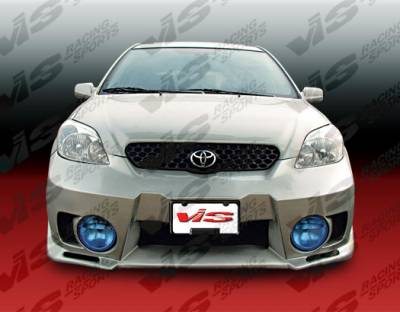 VIS Racing - Toyota Matrix VIS Racing EVO-5 Front Bumper - 02TYMAT4DEVO5-001