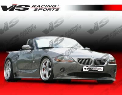 VIS Racing - BMW Z4 VIS Racing Euro Tech Front Lip - 03BMZ42DET-011