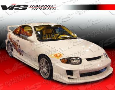VIS Racing - Chevrolet Cavalier 2DR VIS Racing Ballistix Front Bumper - 03CHCAV2DBX-001