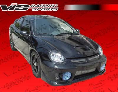 VIS Racing - Dodge Neon 4DR VIS Racing Evo 5 Front Bumper - Polyurethane - 03DGNEO4DEVO5-001P