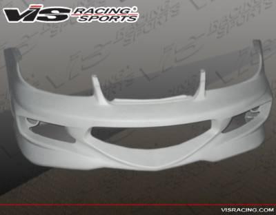 VIS Racing - Dodge Neon 4DR VIS Racing GT Bomber Front Bumper - 03DGNEO4DGB-001