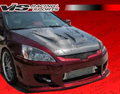 VIS Racing - Honda Accord 2DR VIS Racing Tracer Front Bumper - 03HDACC2DTRA-001