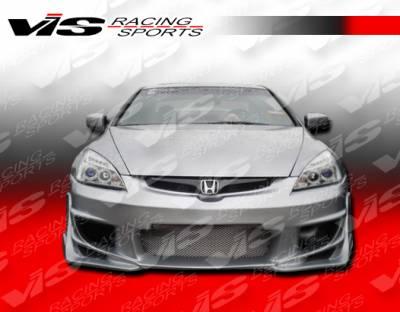 VIS Racing - Honda Accord 4DR VIS Racing Ballistix Front Bumper - 03HDACC4DBX-001