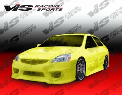 VIS Racing - Honda Accord 4DR VIS Racing Prodigy Front Bumper - 03HDACC4DPRO-001