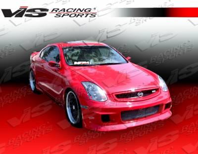 VIS Racing - Infiniti G35 2DR VIS Racing G Speed Front Bumper - 03ING352DGSP-001