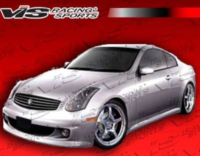 VIS Racing - Infiniti G35 2DR VIS Racing Immense Front Bumper - 03ING352DIMM-001