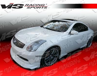 VIS Racing - Infiniti G35 2DR VIS Racing Invader Carbon Fiber Lip - 03ING352DINV-011C