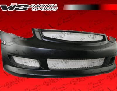 VIS Racing - Infiniti G35 2DR VIS Racing K2 Front Bumper - 03ING352DK2-001
