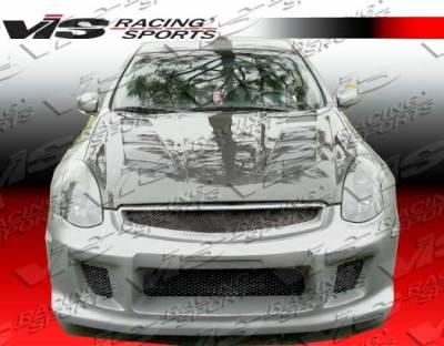 VIS Racing - Infiniti G35 2DR VIS Racing R-35 Front Bumper - 03ING352DR35-001