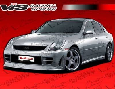 VIS Racing - Infiniti G35 4DR VIS Racing Immense Front Bumper - 03ING354DIMM-001