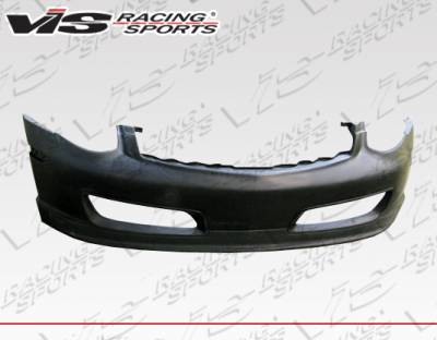 VIS Racing - Infiniti G35 4DR VIS Racing Techno-R Front Bumper - Polyurethane - 03ING354DTNR-001P