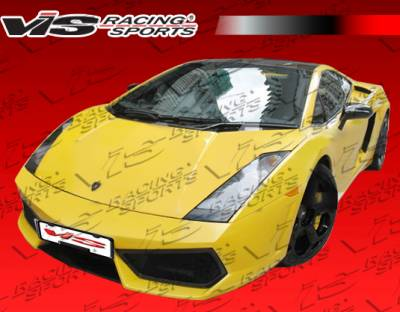 VIS Racing - Lamborghini Gallardo VIS Racing LP560 Style Front Bumper - 03LBGAL2D560-001
