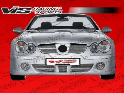 VIS Racing - Mercedes-Benz SL VIS Racing Laser Front Bumper - 03MER2302DLS-001