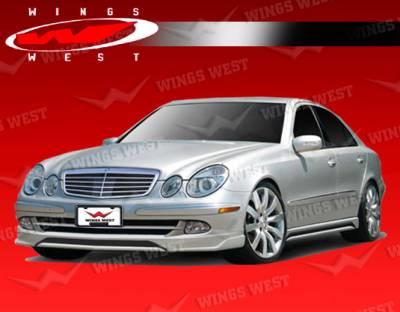 VIS Racing - Mercedes-Benz E Class VIS Racing JPC Front Lip - Polyurethane - 03MEW2114DJPC-011P