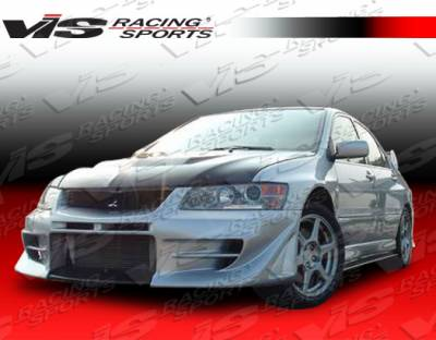 VIS Racing - Mitsubishi Evolution 8 VIS Racing D Speed Front Bumper - 03MTEV84DDSP-001