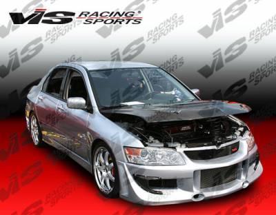 VIS Racing - Mitsubishi Evolution 8 VIS Racing G Speed Front Bumper - 03MTEV84DGSP-001