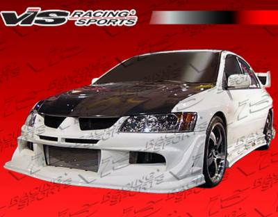VIS Racing - Mitsubishi Evolution 8 VIS Racing Invader Front Bumper - 03MTEV84DINV-001