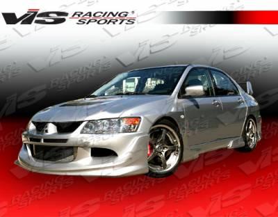 VIS Racing - Mitsubishi Evolution 8 VIS Racing Invader Front Lip - 03MTEV84DINV-011