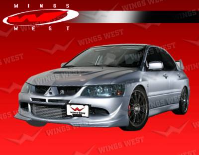 VIS Racing - Mitsubishi Lancer VIS Racing Invader Front Lip - 03MTEV84DJPC-011P
