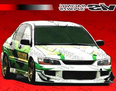 VIS Racing - Mitsubishi Evolution 8 VIS Racing JS Front Bumper - 03MTEV84DJS-001