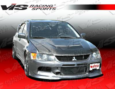 VIS Racing - Mitsubishi Lancer VIS Racing MR Front Bumper with SE Lip - 03MTEV84DMSE-001