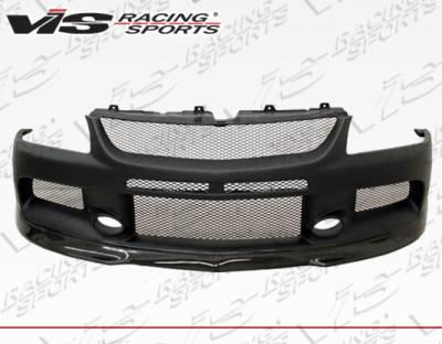 VIS Racing - Mitsubishi Lancer VIS Racing MR Front Bumper with Carbon SE Lip - 03MTEV84DMSE-001CC