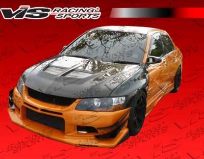 VIS Racing - Mitsubishi Evolution 8 VIS Racing VTX Front Bumper - 03MTEV84DVTX-001