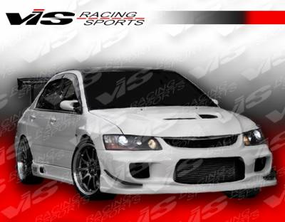 VIS Racing - Mitsubishi Evolution 8 VIS Racing Wings Front Bumper - 03MTEV84DWIN-001