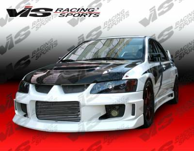 VIS Racing - Mitsubishi Evolution 8 VIS Racing Z Speed Front Bumper - 03MTEV84DZSP-001