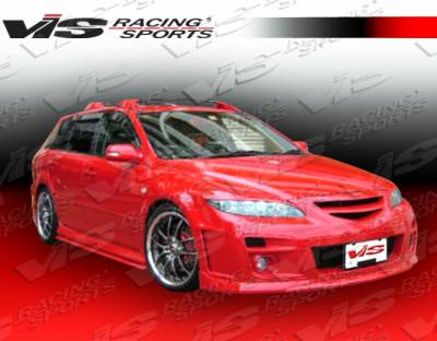 VIS Racing - Mazda 6 VIS Racing A Spec Front Bumper - 03MZ64DASC-001