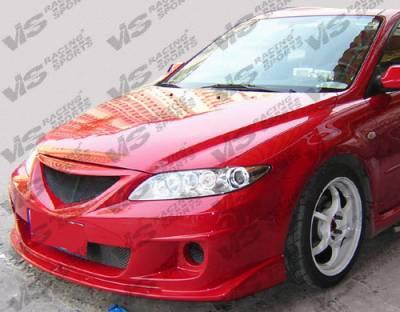 VIS Racing - Mazda 6 VIS Racing Cyber Front Bumper - 03MZ64DCY-001