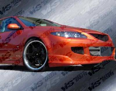 VIS Racing - Mazda 6 VIS Racing Fuzion Front Bumper - 03MZ64DFUZ-001