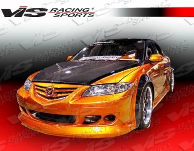 VIS Racing - Mazda 6 VIS Racing K Speed Front Bumper - 03MZ64DKSP-001