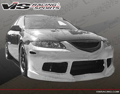 VIS Racing - Mazda 6 VIS Racing Striker X Front Bumper - 03MZ64DSTRX-001