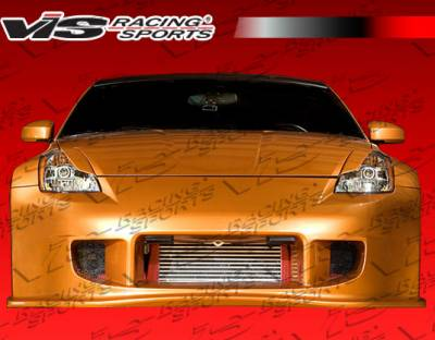 VIS Racing - Nissan 350Z VIS Racing Demon Front Bumper - 03NS3502DDEM-001