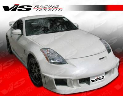 VIS Racing - Nissan 350Z VIS Racing Fuzion Front Bumper - 03NS3502DFUZ-001