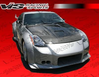 VIS Racing - Nissan 350Z VIS Racing Invader-3 Front Bumper - 03NS3502DINV3-001