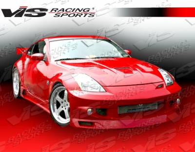 VIS Racing - Nissan 350Z VIS Racing J Speed Front Bumper - 03NS3502DJSP-001