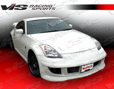 VIS Racing - Nissan 350Z VIS Racing Octane Front Bumper - 03NS3502DOCT-001