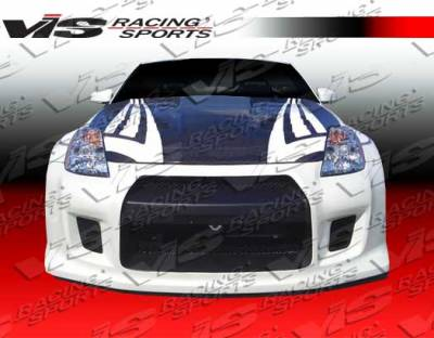 VIS Racing - Nissan 350Z VIS Racing R-35 Front Bumper - 03NS3502DR35-001