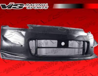 VIS Racing - Nissan 350Z VIS Racing Techno R-2 Front Bumper - Carbon Fiber - 03NS3502DTNR2-001C
