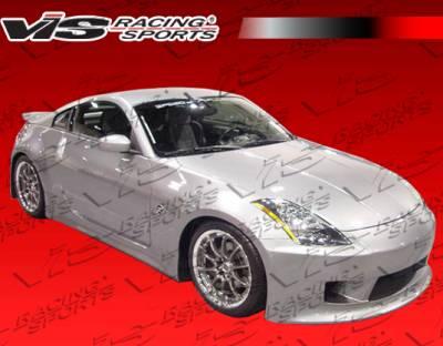 VIS Racing - Nissan 350Z VIS Racing V Speed Front Bumper - 03NS3502DVSP-001