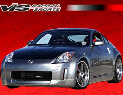 VIS Racing - Nissan 350Z VIS Racing Wings Front Lip - 03NS3502DWIN-011