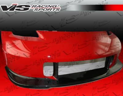 VIS Racing - Nissan 350Z VIS Racing Wings GT Front Bumper - Carbon Fiber - 03NS3502DWINGT-001CC