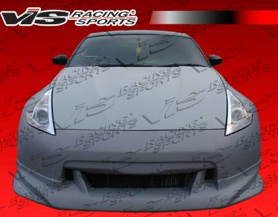 VIS Racing. - Nissan 350Z VIS Racing Z34 Conversion Front Bumper - 03NS3502DZ34-001