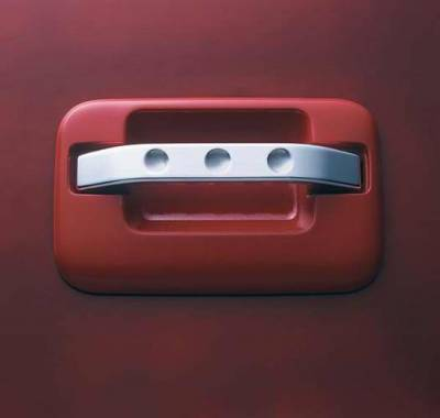 All Sales - All Sales Chrome Billet Door Handle Replacements - Dimple Handle - Pair - 575C