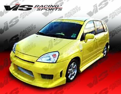 VIS Racing - Suzuki Aerio VIS Racing Striker Front Bumper - 03SZAER4DSTR-001
