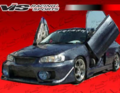 VIS Racing - Toyota Corolla VIS Racing EVO-5 Front Bumper - 03TYCOR4DEVO5-001