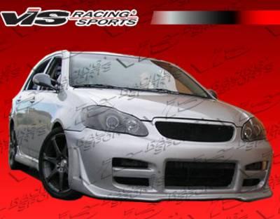 VIS Racing - Toyota Corolla VIS Racing Octane Front Bumper - 03TYCOR4DOCT-001