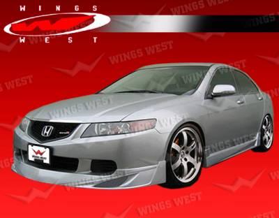 VIS Racing - Acura TSX VIS Racing JPC Front Lip - 04ACTSX4DJPC-011P